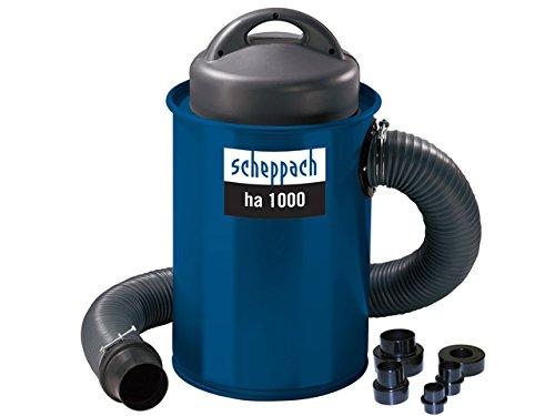 Scheppach, Aspiratore ha 1000, incl. set di adattatori 220-240 V, 1,1 kW - 4906302901-9930