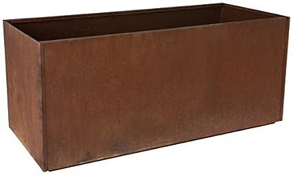 Exceptionnel Nice Planter Corten Steel Trough Planter, 16u0026quot; ...