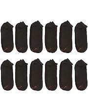 Hanes Men's FreshIQ Low Cut Socks (Pack of 12)