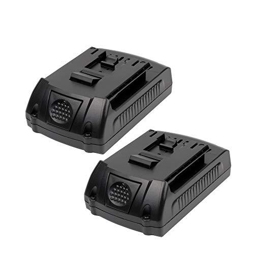 VANTTECH 2-Pack 2000mAh BAT612 Lithium Battery for Bosch 18v BAT609 BAT610G BAT611 BAT618 BAT619 DDS181 PB180 DDB181 DDBB180 25618 Cordless Power Drills ()