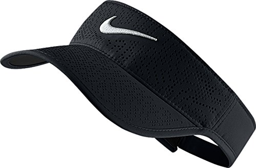 Nike Women's 2016 Tech Golf Visor (One Size, 010 Black) -