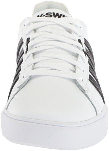 K-Swiss Herren Pershing Court CMF Schuhe white-black (05643-102)