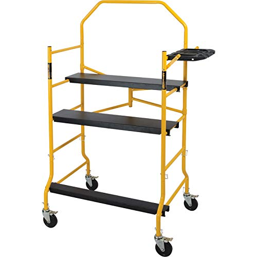 Metaltech I- IMIS Job Site Series 6-3/8 4 x 2-1/2 ft. Scaffold 900 lb. Load Capacity I-IMIS