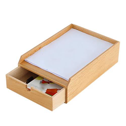 Archivador Estante de Madera de la Oficina de los Datos del Almacenamiento del cajón del gabinete del fichero 23.7cm *...