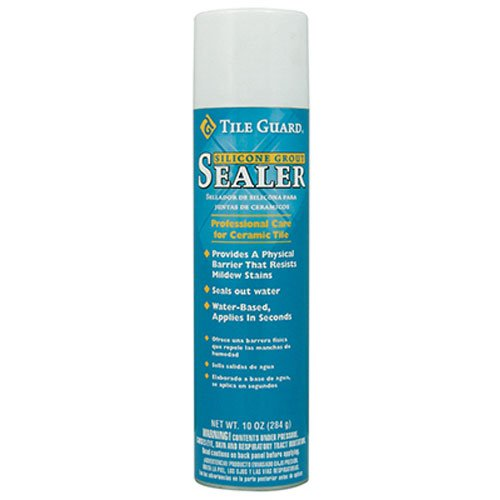 (Homax Group 9520 Tile Guard Aerosol Silicone Grout Sealer, 10-Ounce)