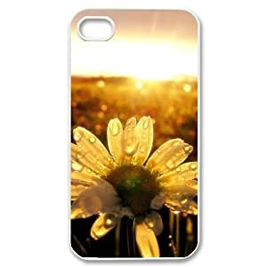 Sunflower Unique Fashion Printing Phone Case for Iphone 4,4S,personalized cover case ygtg563168