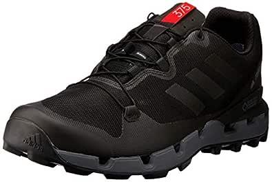 adidas Australia Men's Terrex Fast GTX-Surround Hikings Shoes, Core Black/Grey/Hi-Res Red