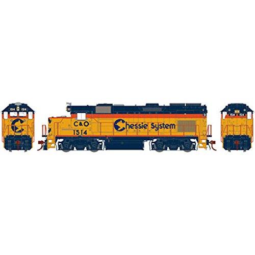 Union Pacific Train Crew (Athearn HO GP15T w DCC & Sound Chessie #1514)