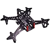 Usmile 100mm Half Carbon Fiber Quadcopter Frame Kit for 1104 Brushless Motor Indoor FPV racing