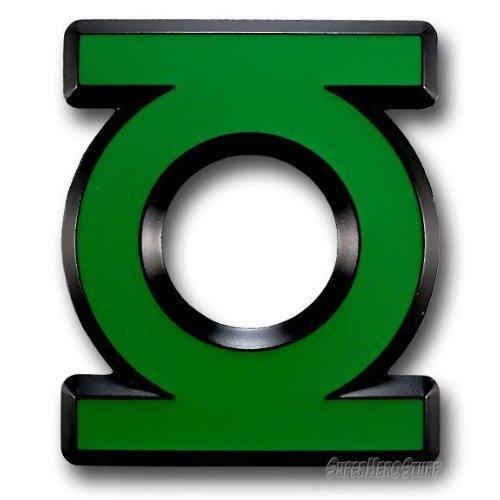 - Officially Licensed Dc Comic Green Lantern Logo Die Cut Logo Belt Buckle