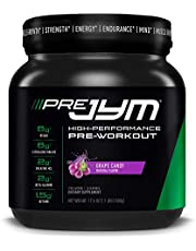 Pre JYM Pre Workout Powder - BCAAs, Creatine HCI, Citrulline Malate, Beta-Alanine, Betaine, and More | JYM Supplement Science