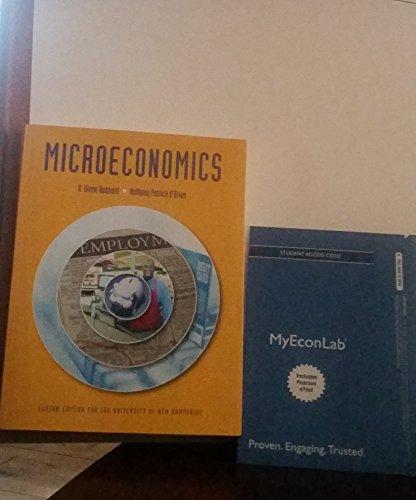 Microeconomics: Custom Edition for the University of New Hampshire