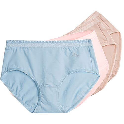 b09fbe5590a SANQIANG Women s 4 Pack Cotton Stretch Hipster Panty Comfort Underwear