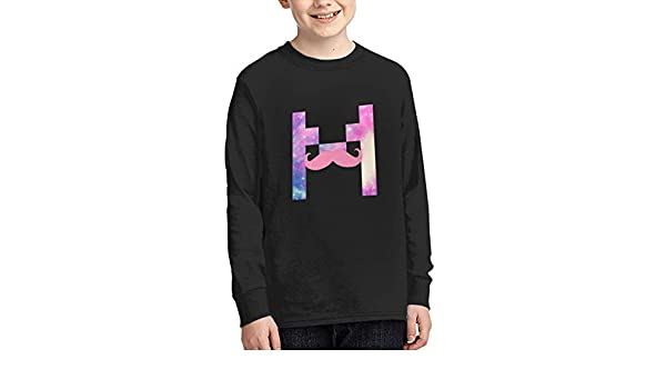 JJZHA0Ihzka Boys Markiplier Long Sleeve Shirts