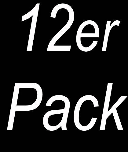 Vincent da Creation® Premium boxer uomo nero cotone Confezione in da 12 pRpfTqxrw