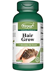 VORST Hair Growth Formula with Biotin (Vitamin B7 or H) 60 Capsules   Hair Loss Supplement for Stimulating Hair Growth , Regrowth , and Hair Quality   Contains Palm Oil , Apple , Millet , Pantothenic Acid , L Cysteine , L Methionine , Silicon , Zinc , Iron , Copper and Vitamins for Beard Regrowth No Minoxidil or Keratin Per Capsule   1 Bottle