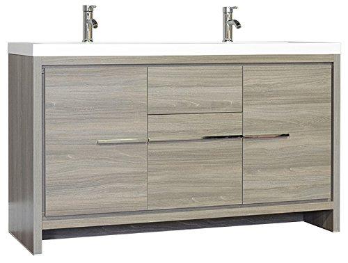 Alya Bath AT-8060-57-G Ripley Bathroom Vanity, 57