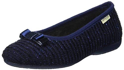 Chaussons Femme Blu Taxi Blu Bleu Grunland Bas At5wv