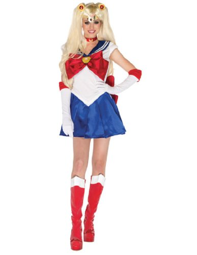 Sailor Moon Adult Costume - Large