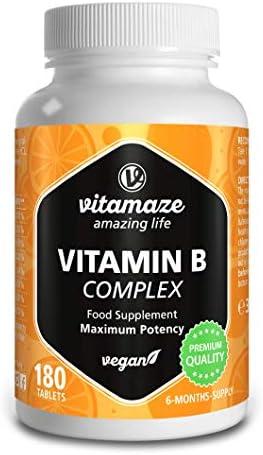 Vitamaze® Vitamina B Complex con 180