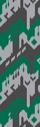 Surya JT2057-268 Hand Woven Casual Runners, 2-Feet 6-Inch by 8-Feet, Gray/Emerald/Kelly Green/Ivory by Surya (Image #1)