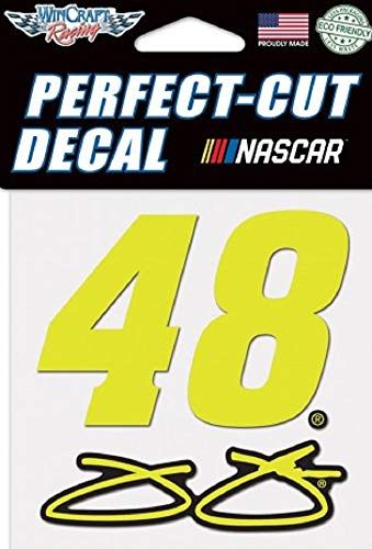 (WinCraft NASCAR Jimmie Johnson Perfect Cut Color Decal, 4
