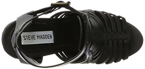 STEVE MADDEN SANDRINA-BLK SIZE 5.5US
