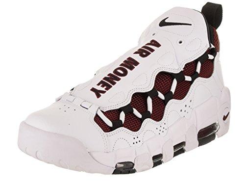 Nike Air More - Zapatillas de Baloncesto Para Hombre, Color Blanco y Negro
