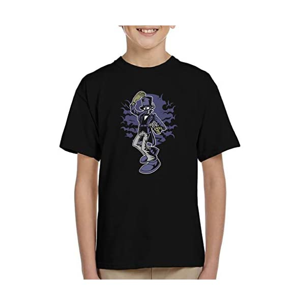 Classic Steampunk Gentleman Kid's T-Shirt 3