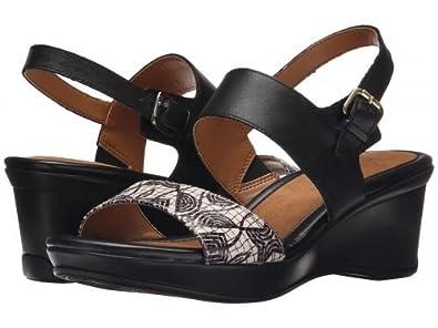 a2c0238f636a Naturalizer(ナチュラライザー) レディース 女性用 シューズ 靴 サンダル Vibrant - Black Leather