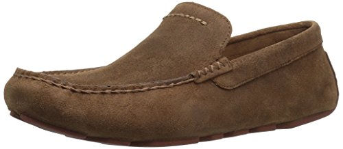 UGG Men's Henrick Slip-On Loafer, Chestnut, 9 M US