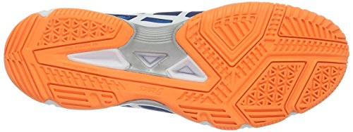 Asics Gel-Beyond 5, Zapatillas de Gimnasia para Hombre Azul (blue Jewel/white/hot Orange)