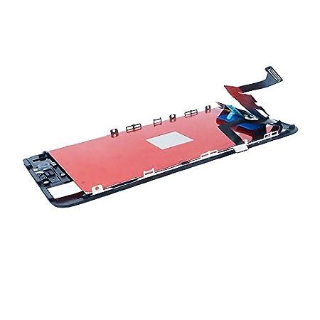 Negro Sanka LCD Pantalla T/áctil con Marco de Digitalizaci/ón Asamblea Pantalla de Recambio para iPhone 7Plus