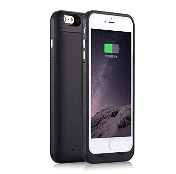 d4fc601d9eb Shot Case Carcasa batería Cargador para iPhone 5/5S/Se Negro: Amazon.es:  Electrónica