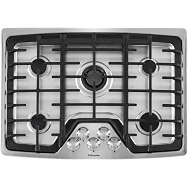 """Electrolux EW30GC60PS Built-In Gas Cooktop, 30"""", Stainless Steel"""