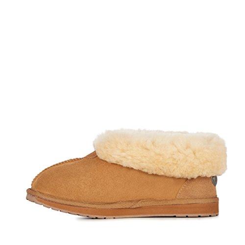Chocolate Chestnut Australia EMU Slippers Slipper Albany Sheepskin in Womens Platinum vfqfw8z