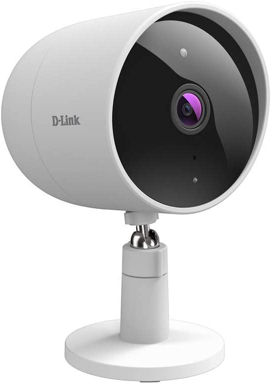 D-Link Indoor Outdoor WiFi Security Camera, Full HD Pro 2 Way Audio Cloud Recording Motion Detection Smart Home Surveillance Network System (DCS-8302LH-US)