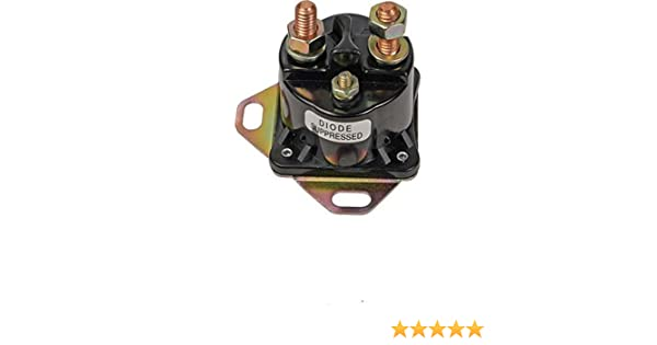 SWITCH SOLENOID RELAY FOR FORD PRESTOLITE REPLACES E5DF-11450-AA E5TZ-11450-A