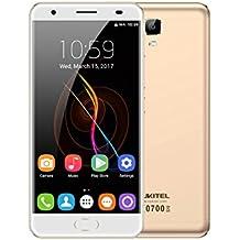 Unlocked Cell Phones, Oukitel OK6000 Plus 6080mAh Big Battery Smartphone 5.5 Inch Dual SIM Android 7.0 Octa Core 4GB RAM 64GB ROM Mobile Phone 9/2A Quick Charge Fingerprint OTG-Gold