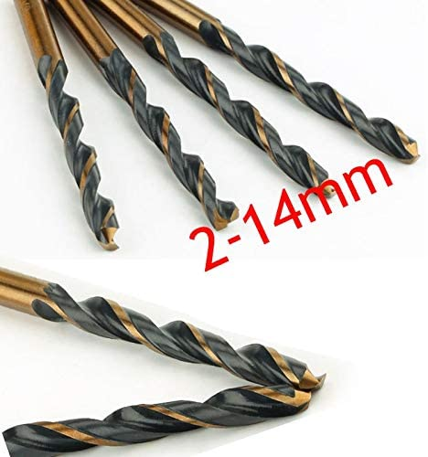 for Drilling on Hardened Steel Cast Iron Stainless Steel Color : 6.8mm, Size : Round Best bit 1pc Twist Drill Bit HSS Drill Set 2.0-14.5mm