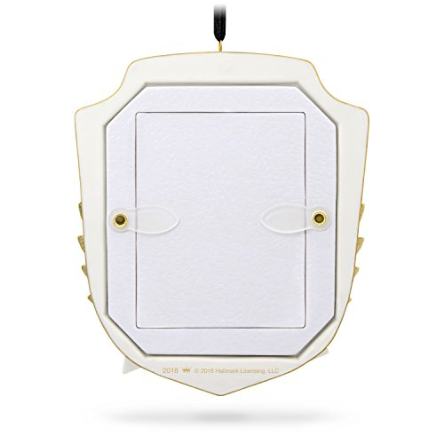 Hallmark Keepsake Christmas Ornament 2018 Year Dated Graduation Gift Congratulations Porcelain and Metal Picture Frame, Photo Frame by Hallmark (Image #1)