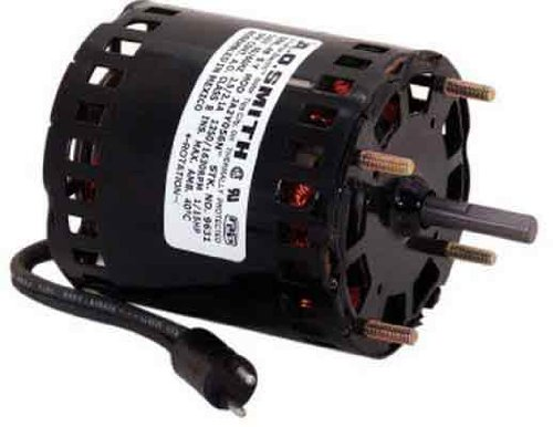 AO Smith 9632 3.3-Inch Frame Diameter 1/15 HP 1550 RPM 208-230-Volt 1.2-Amp Sleeve Bearing Blower (Smith Blower Assembly)