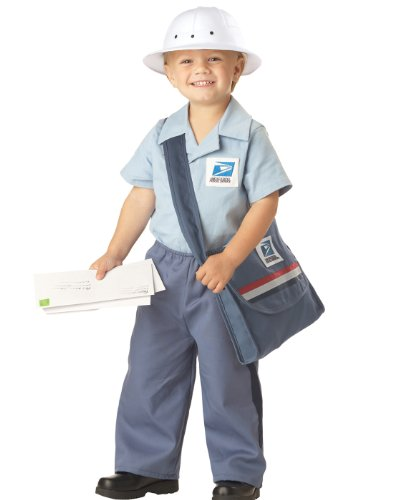 Toddler Postman Costume Blue