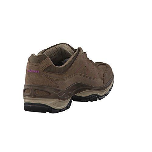 Lowa Toro GTX lo WS marrón púrpura Gris