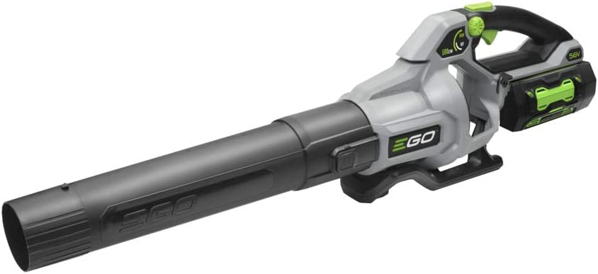 EGO Power+ LB5804 580CFM Variable-Speed 56-Volt Lithium-ion Cordless Leaf Blower 5.0Ah Battery & Charger Included