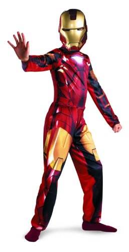 Iron Man 2 Mark 6 Classic Costume, Child L(10-12)