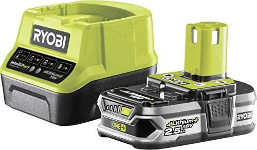 Ryobi RC18120-125 - Pack cargador 1 h + 1 Batería Litio-Ion 18V 2,5Ah