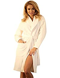 110973ea5c Amazon.com  Ivory - Robes   Sleep   Lounge  Clothing