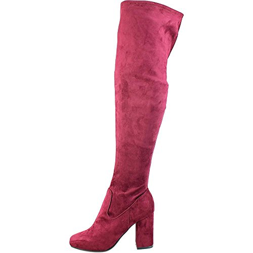 Carlos Boot Women's Over Knee The Santana Malbec Microsuede Rumer Carlos by 65wxnCTCq