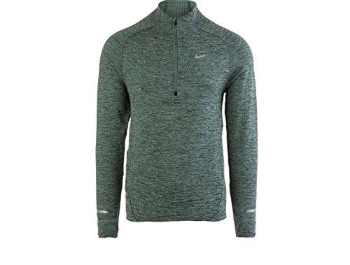 Nike Sphere Element Men's Half-Zip Long Sleeve Running Top (S, Grey)